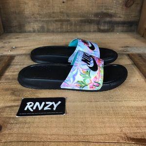 Nike Benassi JDI Floral Slide Sandals